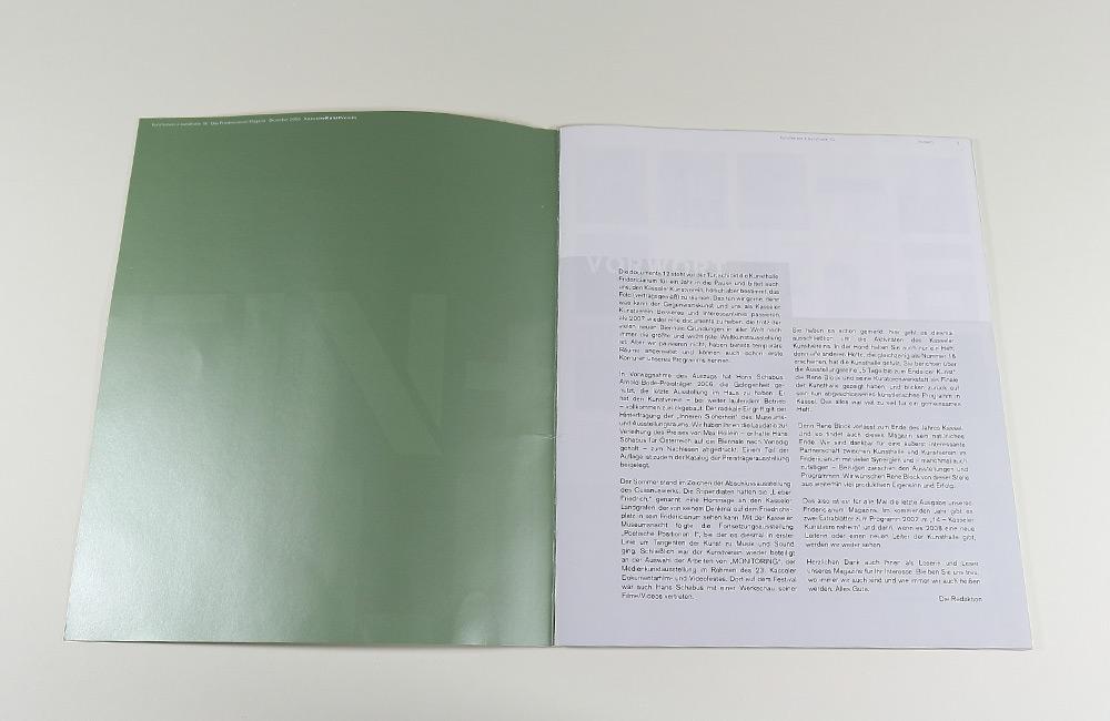 EIN&ALLE das Friedericianum Magazin