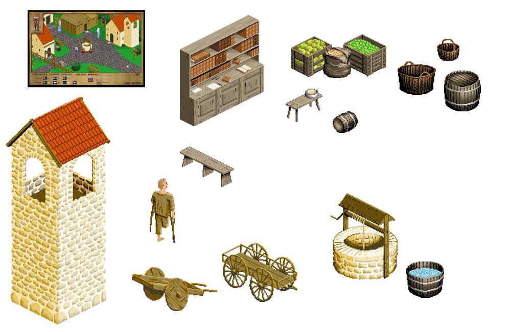 """Spielegrafiken für """"800 Jahre Elisabeth"""""""