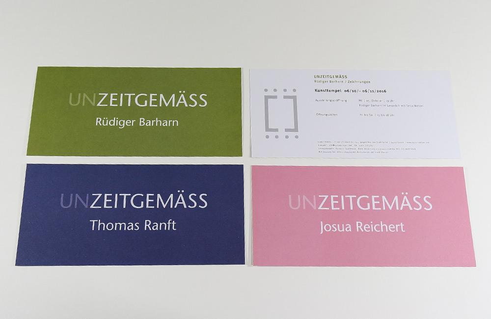 Unzeitgemäss - Kunsttempel Kassel