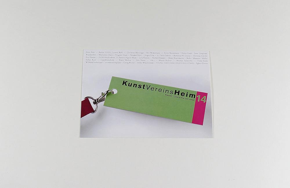 Kunstvereinsheim Werbepostkarte