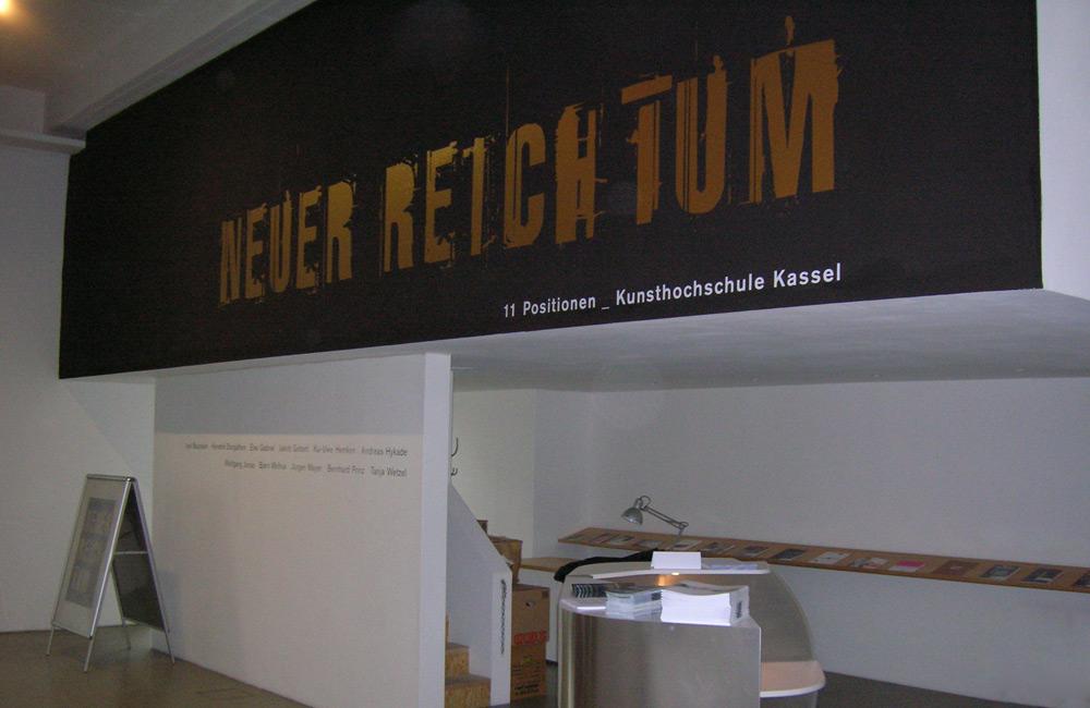 """Kasseler Kunstverein """"Neuer Reichtum"""""""