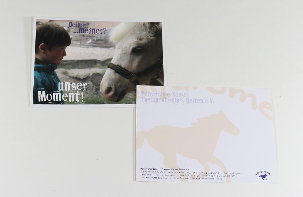 Ponydrome e.V. • Werbepostkarten