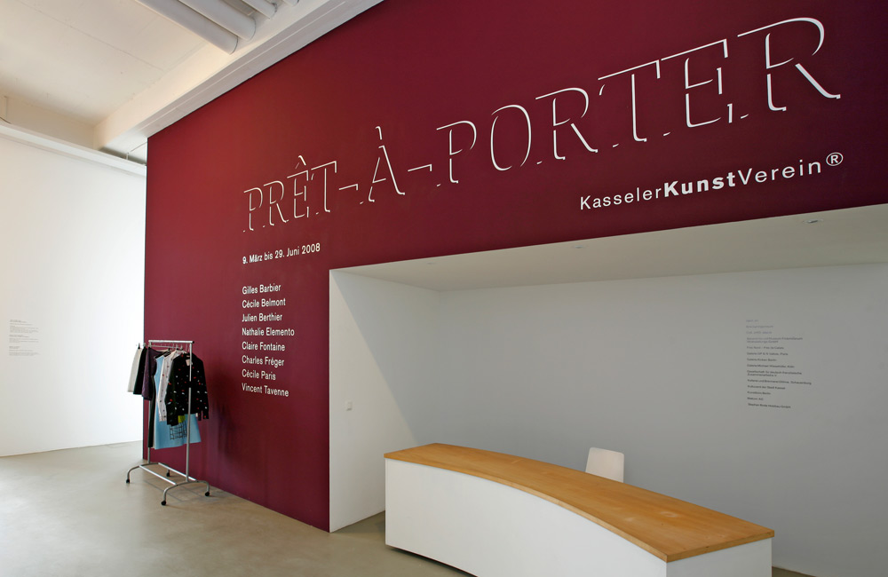 "Kasseler Kunstverein ""Pret-A-Porter"""