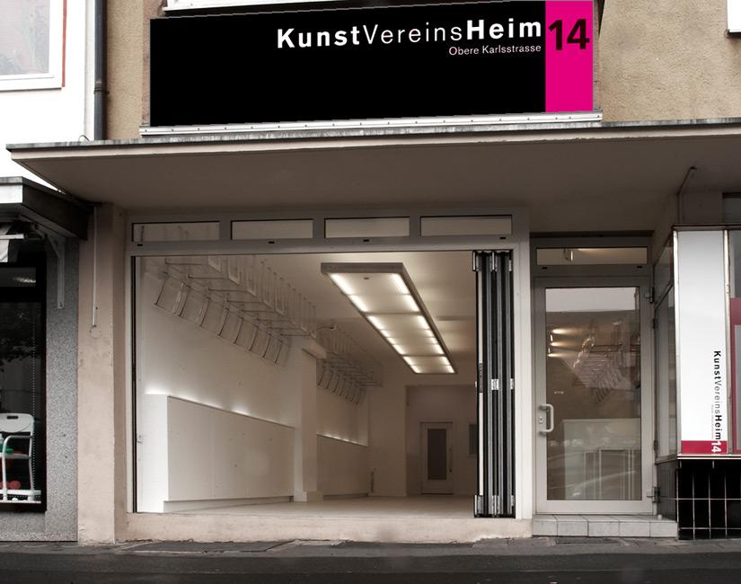 Kunstvereinsheim  • temporärer Ausstellungsraum